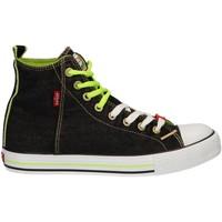 Sapatos Criança Sapatilhas Levi's VTRU0137T ORIGINAL Negro