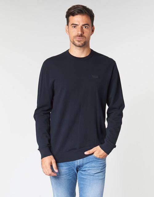 Textil Homem camisolas HUGO SAN CLAUDIO 1 Marinho