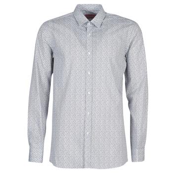 Textil Homem Camisas mangas comprida HUGO ELISHA02 Cinza