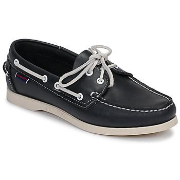 Sapatos Mulher Sapato de vela Sebago DOCKSIDES PORTLAND W Azul