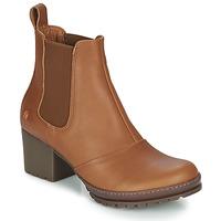 Sapatos Mulher Botins Art CAMDEN Conhaque
