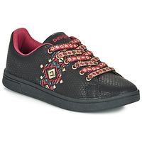 Sapatos Mulher Sapatilhas Desigual COSMIC NAVAJO Preto