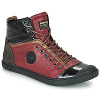 Sapatos Mulher Sapatilhas de cano-alto Pataugas BANJOU Bordô