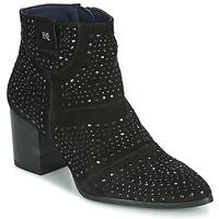 Sapatos Mulher Botins Dorking LESLY Preto