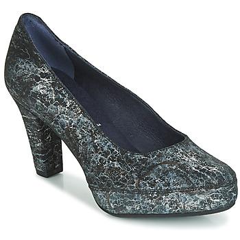 Sapatos Mulher Escarpim Dorking BLSA Preto / Cinza