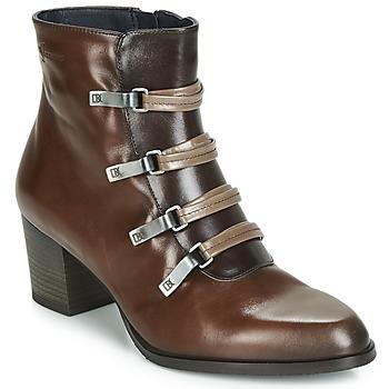 Sapatos Mulher Botins Dorking ZUMA Camel