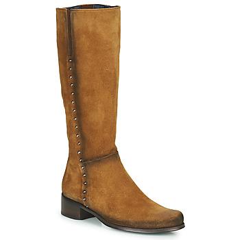 Sapatos Mulher Botas Dorking CRUSCA Castanho