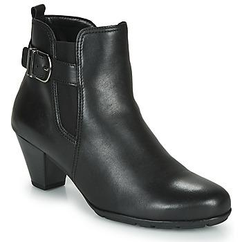 Sapatos Mulher Botins Gabor 3564127 Preto