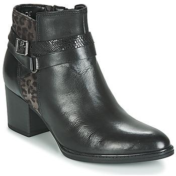 Sapatos Mulher Botins Gabor 3289367 Preto / Leopardo