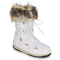 Sapatos Mulher Botas de neve Moon Boot MOON BOOT MONACO LOW WP 2 Branco