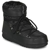 Sapatos Mulher Botas de neve Moon Boot MOON BOOT LOW NYLON WP 2 Preto