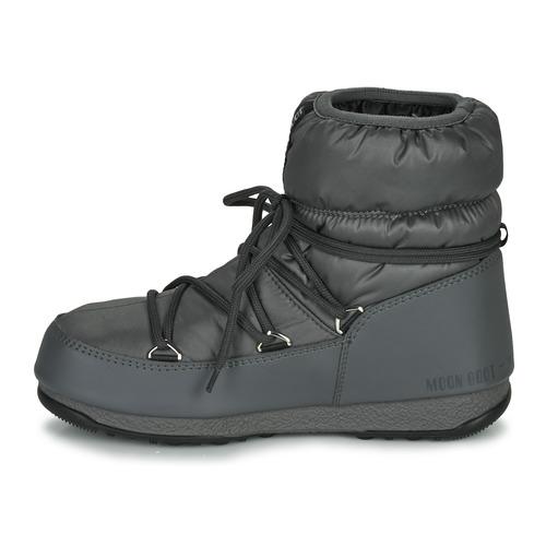 Moon Boot Low Nylon Wp 2 Botas De Neve Mulher Cinza
