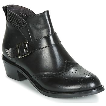 Sapatos Mulher Botas baixas Kdopa INNA Preto