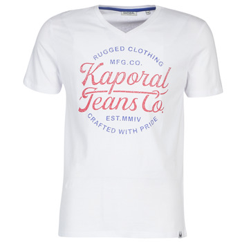 Textil Homem T-Shirt mangas curtas Kaporal OBUCE Branco