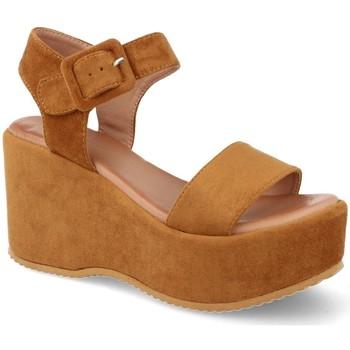 Sapatos Mulher Sandálias Buonarotti 1FF-19196 Camel
