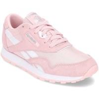 Sapatos Rapariga Sapatilhas Reebok Sport Classic Nylon Cor-de-rosa