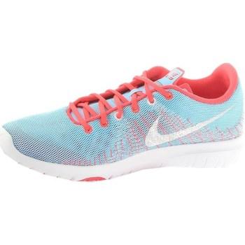 Sapatos Mulher Sapatilhas Nike Flex Fury GS Azul, Azul, Cor-de-rosa