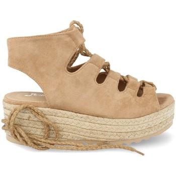 Sapatos Mulher Alpargatas Festissimo D8520 Taupe