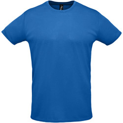 Textil Homem T-Shirt mangas curtas Sols SPRINT SPORTS Azul