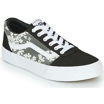 Sapatos Criança Sapatilhas Vans MY WARD NR Preto