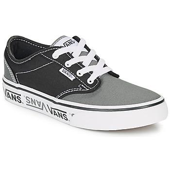 Sapatos Criança Sapatilhas Vans YT ATWOOD NR Preto