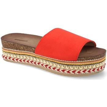 Sapatos Mulher chinelos Buonarotti 1AD-19127 Rojo