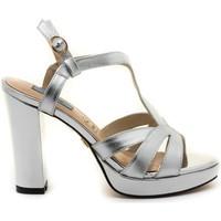 Sapatos Mulher Sandálias Chiller 19075 Prata