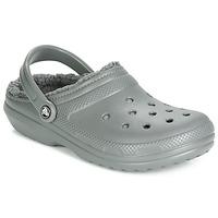 Sapatos Tamancos Crocs CLASSIC LINED CLOG Cinza