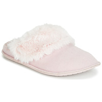 Sapatos Mulher Chinelos Crocs CLASSIC LUXE SLIPPER Rosa