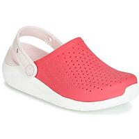 Sapatos Rapariga Tamancos Crocs LITERIDE CLOG K Vermelho / Branco