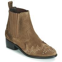 Sapatos Mulher Botas baixas Pepe jeans CHISWICK LESSY Castanho