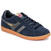 Sapatos Homem Sapatilhas Gola EQUIPE SUEDE Azul / Branco