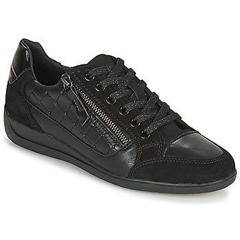 Sapatos Mulher Sapatilhas Geox D MYRIA A Preto