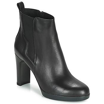 Sapatos Mulher Botins Geox D ANNYA HIGH Preto