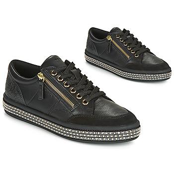 Sapatos Mulher Sapatilhas Geox D LEELU' Preto