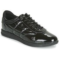Sapatos Mulher Sapatilhas Geox D AVERY Preto