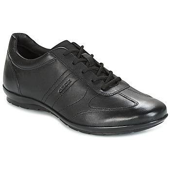 Sapatos Homem Sapatos Geox UOMO SYMBOL Preto