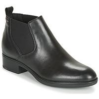 Sapatos Mulher Botas baixas Geox D FELICITY NP ABX C Preto