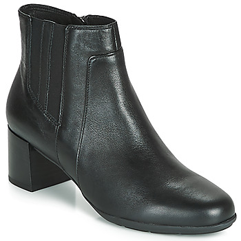 Sapatos Mulher Botins Geox D NEW ANNYA MID Preto