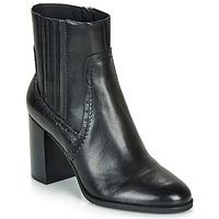 Sapatos Mulher Botins Geox D JACY HIGH Preto