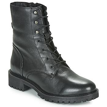 Sapatos Mulher Botas baixas Geox D HOARA Preto