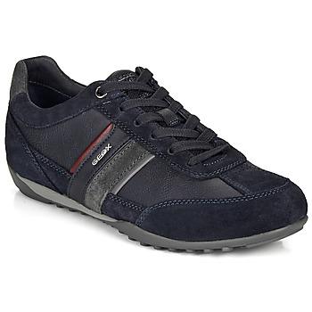 Sapatos Homem Sapatilhas Geox U WELLS Marinho