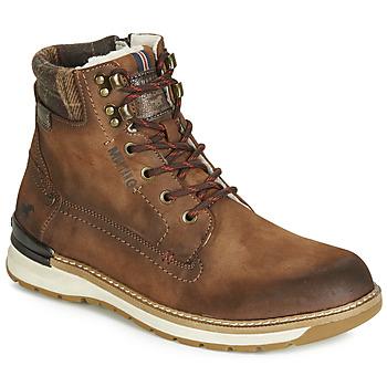 Sapatos Homem Botas baixas Mustang 4141602 Castanho