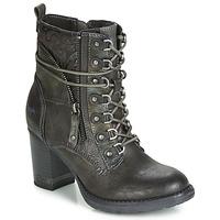 Sapatos Mulher Botins Mustang 1233505-305 Castanho