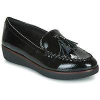 Sapatos Mulher Mocassins FitFlop PETRINA MOCASSIN Preto