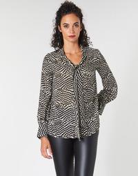 Textil Mulher Tops / Blusas Ikks BP13065-02 Bege / Preto