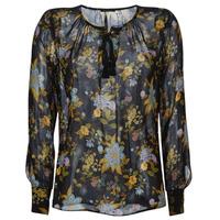 Textil Mulher Tops / Blusas Ikks BP13125-02 Preto / Multicolor