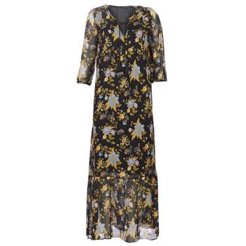 Textil Mulher Vestidos compridos Ikks BP30195-02 Preto / Multicolor