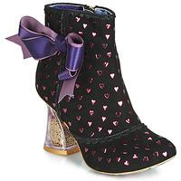 Sapatos Mulher Botins Irregular Choice OUTTA TIME Preto