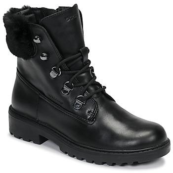 Sapatos Rapariga Botas baixas Geox J CASEY GIRL WPF Preto